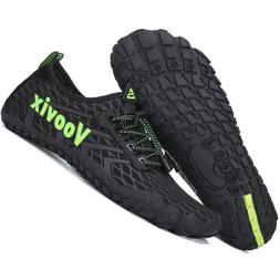 Voovix Womens Barefoot Trail Running Hiking Shoes Boys Girls