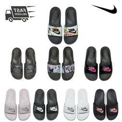 Womens NIKE Benassi JDI Slide Print Sandals Sliders Flip Flo
