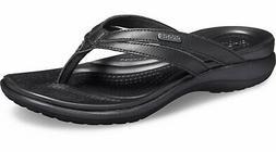 Crocs Womens Capri Basic Strappy Flip