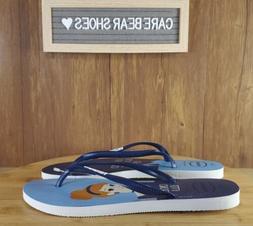 Havaianas Womens Cinderella Sandals Size 9/10 Flip Flops Dis