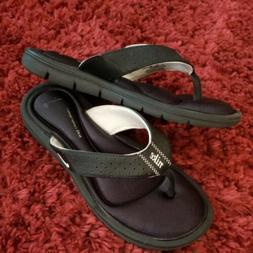 NIKE womens comfort footbed flip flops sandals comfort shoes