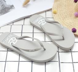 Women's Flip Flop Sandals Slim Summer Thong Slippers For B