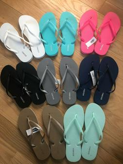 Old Navy Womens Flip Flops Assorted Colors & Sizes Brand New