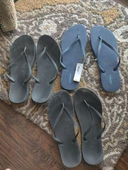 Old Navy Womens Flip Flops New a d Used Size 11