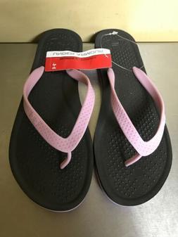 Under Armour Womens Flip Flops Size 10 Atlantic Dune Sandals