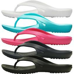 Womens Crocs Kadee II 2 Flip Flops Lightweight Everyday Comf