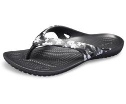 Crocs Womens Kadee II Seasonal Graphic Flip