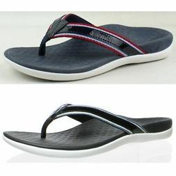 Vionic Womens Rest Tide Sport Blue Flip Flops Size 5