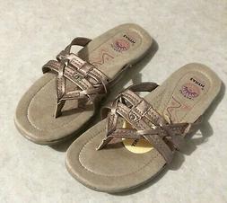 Earth Spirit Womens Sandals New Size 7 Thongs Flip Flops Arc