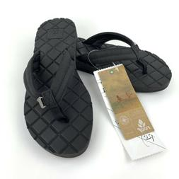 Reef Womens Sandals Star Dreams II Faux Leather Quilted Flip