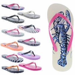 Joules Womens Sandy Thong Textured Sandals Flip-Flops Shoes