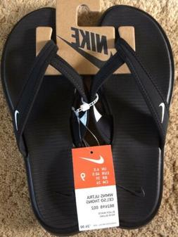 Nike Womens Ultra Celso Thong Flip Flop Black Assorted Sizes