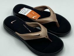 Nike Women's Ultra Comfort 3 Thong Sandals Flip Flops Blac