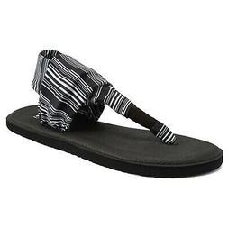 CIOR Womens Yoga Sandals Flip Flop mat Sling Back Meditation