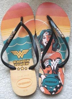 Havaianas **WONDER WOMAN** Flip Flops In U.S. Women's Size 9