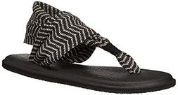 Sanuk Yoga Sling 2 Prints Womens Canvas Flip Flops
