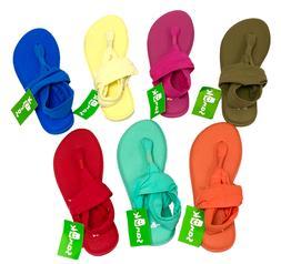 Sanuk Yoga Sling 2 Spectrum Women's Flip Flops Shoes Mat 102