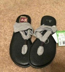 Sanuk Yoga Sling 2 Spectrum Women's Flip Flops Shoes  Yoga M