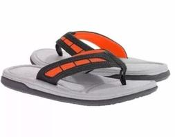 Athletic works youth boys Flip Flops Size 2-3